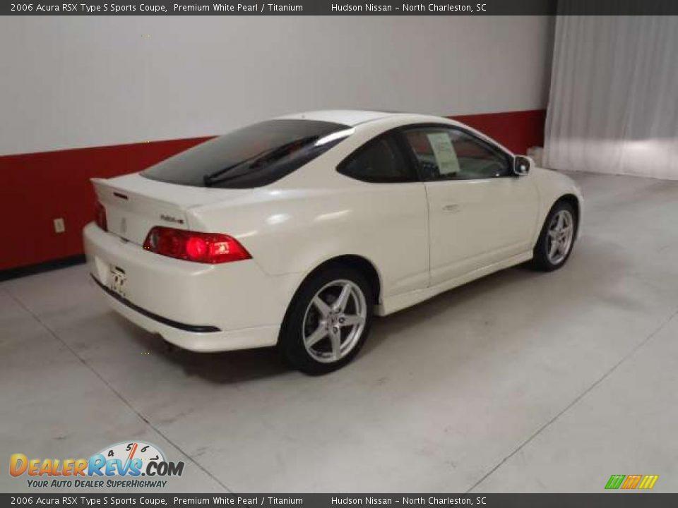 2006 White Rsx Type s 2006 Acura Rsx Type s