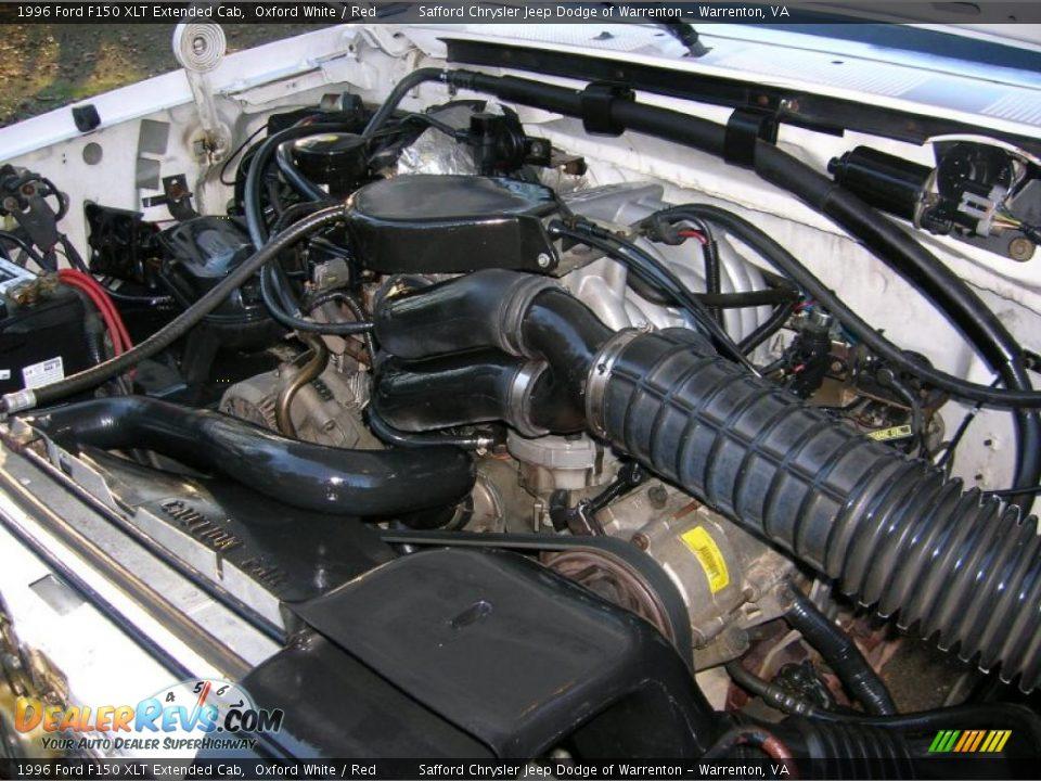 1996 ford f150 xlt extended cab 5 8 liter ohv 16 valve v8 for Motor ford f150 v8