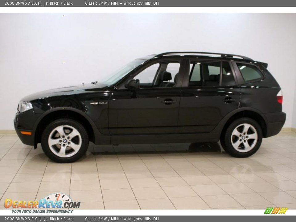 2008 bmw x3 jet black black photo 4. Black Bedroom Furniture Sets. Home Design Ideas