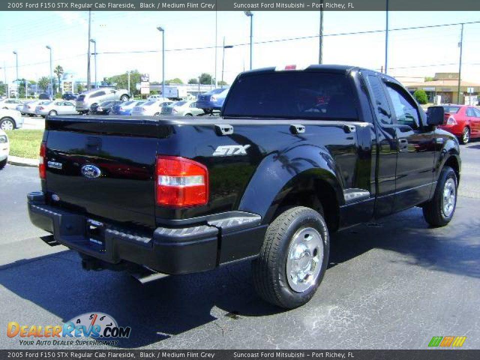 2005 Ford F150 STX Regular Cab Flareside Black / Medium