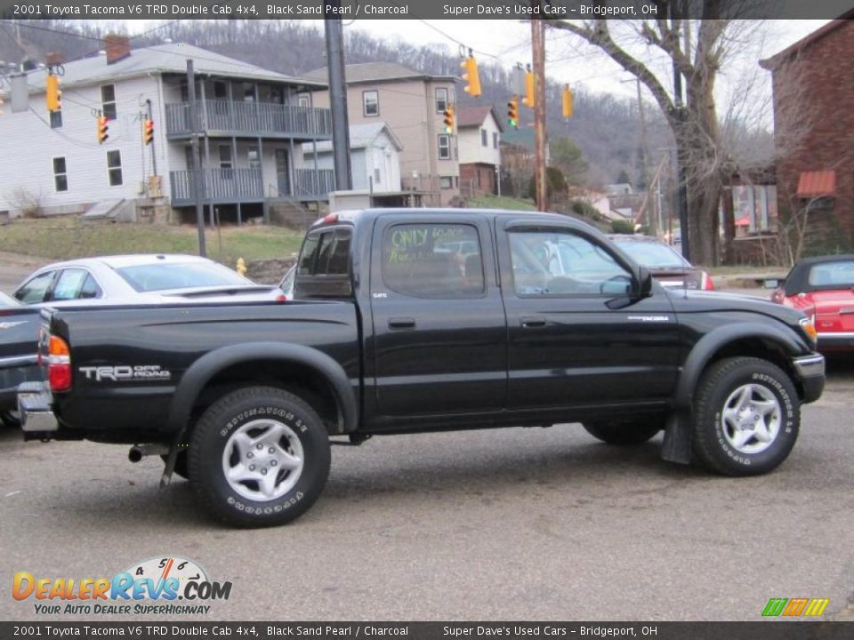 2001 toyota tacoma v6 trd double cab 4x4 black sand pearl charcoal photo 6. Black Bedroom Furniture Sets. Home Design Ideas
