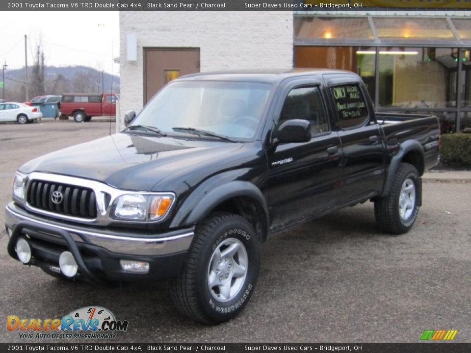 2001 toyota tacoma v6 trd double cab 4x4 black sand pearl charcoal photo 10. Black Bedroom Furniture Sets. Home Design Ideas