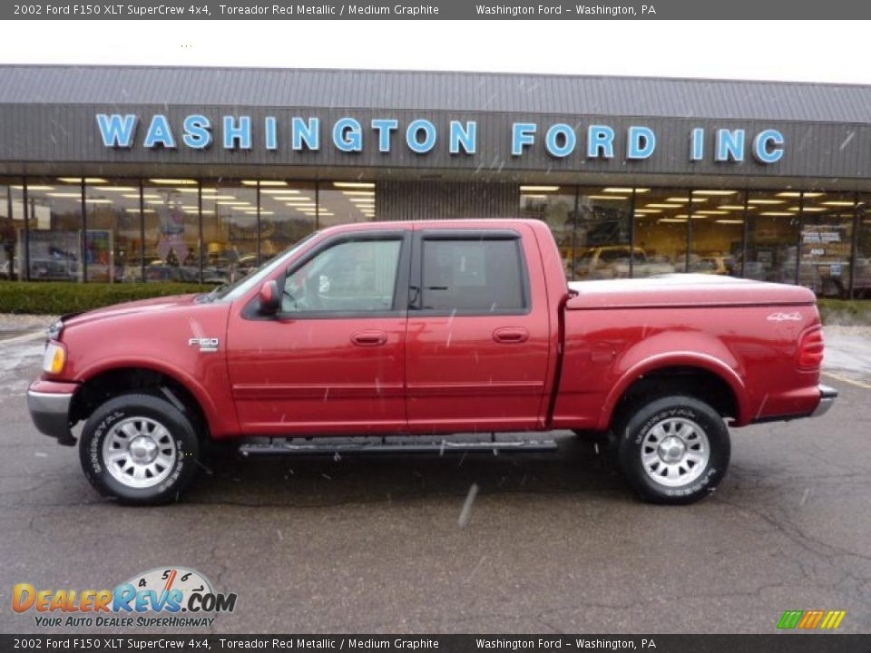 2002 ford f150 xlt supercrew 4x4 toreador red metallic. Black Bedroom Furniture Sets. Home Design Ideas