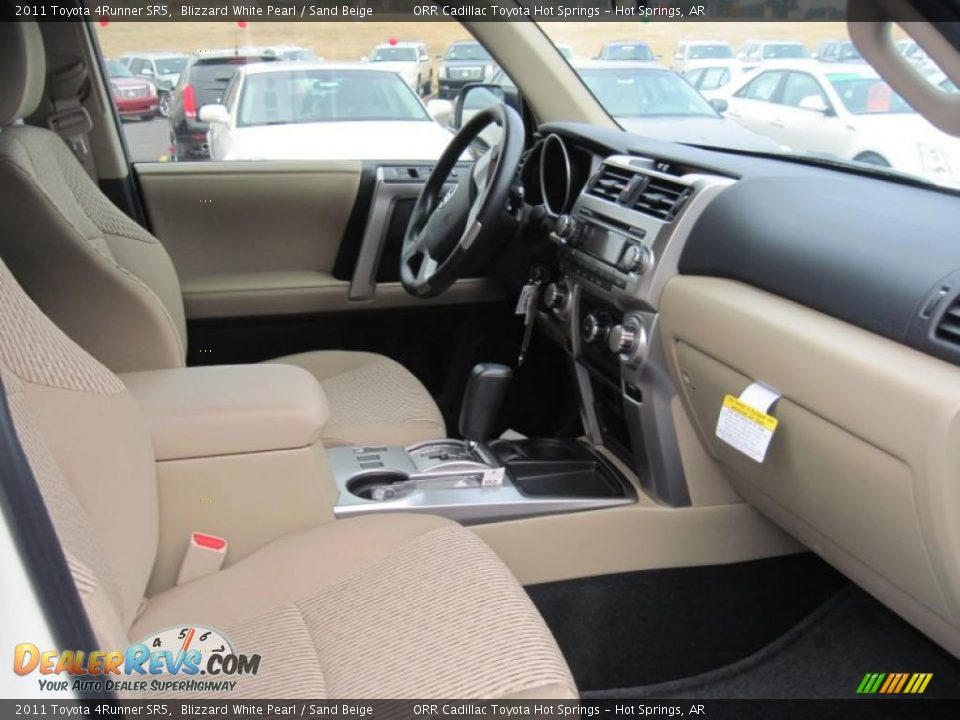 Sand Beige Interior - 2011 Toyota 4Runner SR5 Photo #13 DealerRevs ...