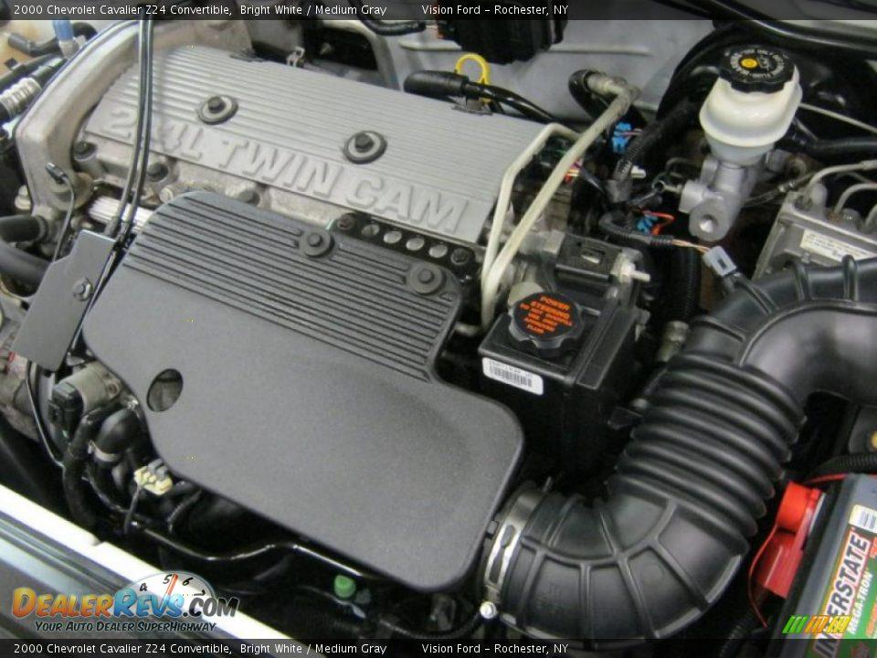 2000 chevrolet cavalier z24 convertible 2 4 liter dohc 16. Black Bedroom Furniture Sets. Home Design Ideas