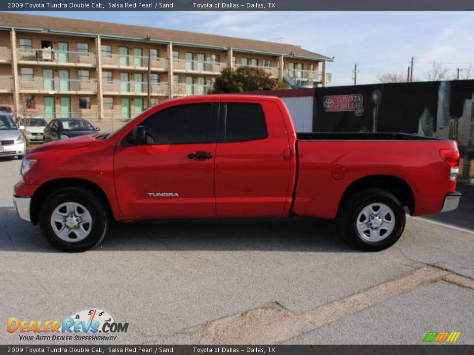 2009 toyota tundra double cab salsa red pearl sand photo. Black Bedroom Furniture Sets. Home Design Ideas