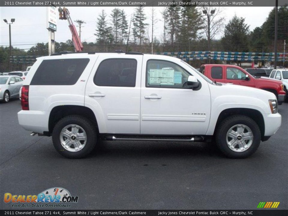Used Chevy Tahoe >> 2011 Chevrolet Tahoe Z71 4x4 Summit White / Light Cashmere ...