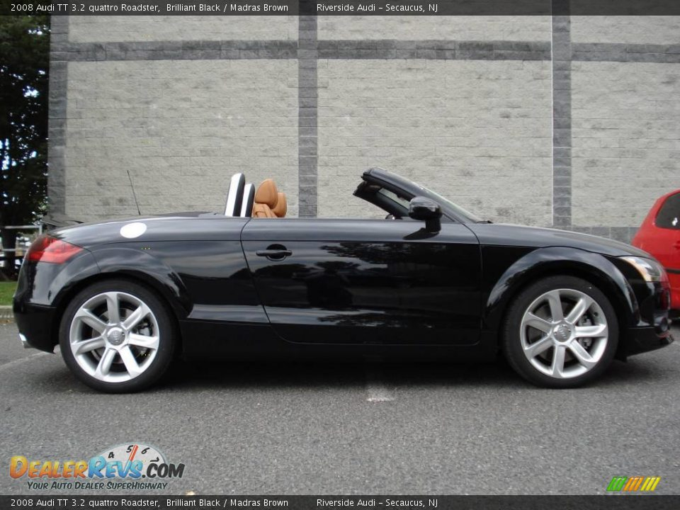 2008 audi tt 3 2 quattro roadster brilliant black madras brown photo 3. Black Bedroom Furniture Sets. Home Design Ideas