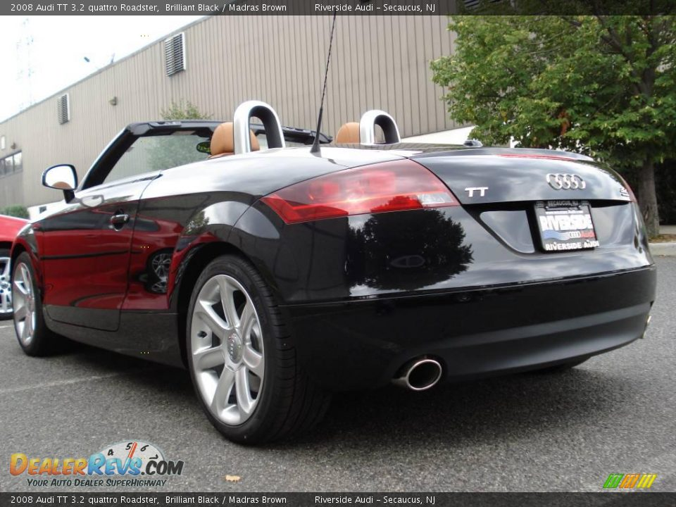 2008 Audi Tt 3 2 Quattro Roadster Brilliant Black Madras