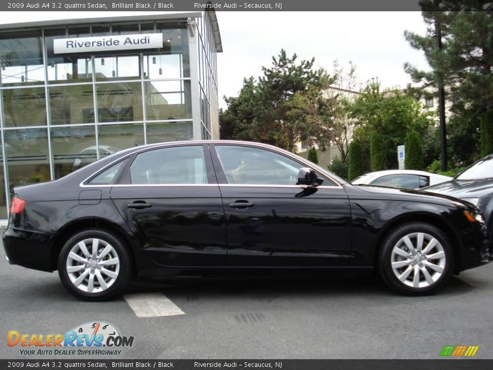2009 Audi A4 3 2 Quattro Sedan Brilliant Black Black