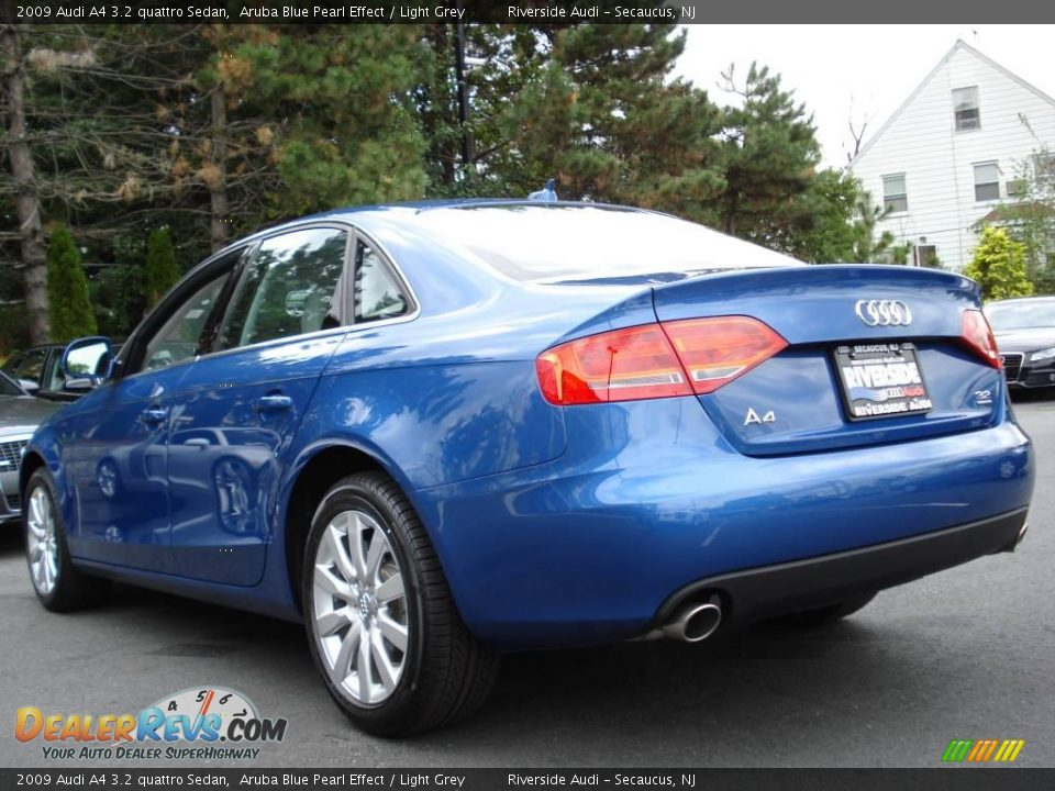 2009 audi a4 3 2 quattro sedan aruba blue pearl effect. Black Bedroom Furniture Sets. Home Design Ideas