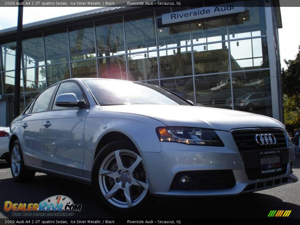 2009 Audi A4 2 0t Quattro Sedan Ice Silver Metallic