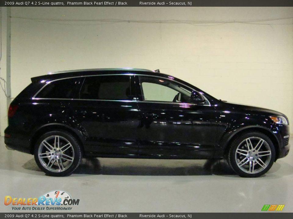 2009 Audi Q7 4.2 S-Line quattro Phantom Black Pearl Effect / Black ...