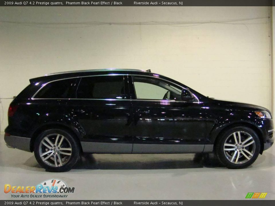 2009 Audi Q7 4 2 Prestige Quattro Phantom Black Pearl