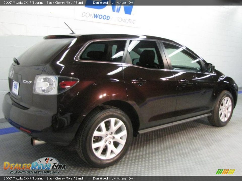 2007 mazda cx 7 touring black cherry mica sand photo 4. Black Bedroom Furniture Sets. Home Design Ideas