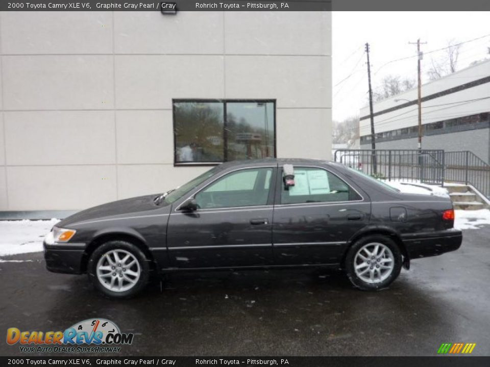 2000 toyota camry xle v6 graphite gray pearl gray photo 1. Black Bedroom Furniture Sets. Home Design Ideas