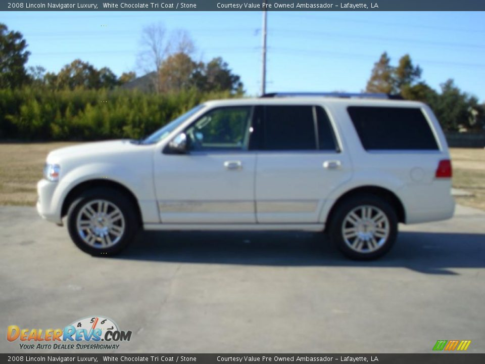 2008 lincoln navigator luxury white chocolate tri coat for State motors lincoln dealer manchester nh