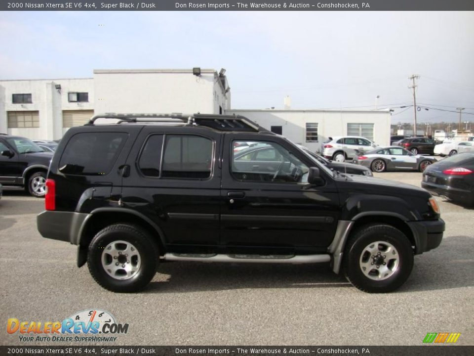 2000 nissan xterra se v6 4x4 super black dusk photo 7. Black Bedroom Furniture Sets. Home Design Ideas
