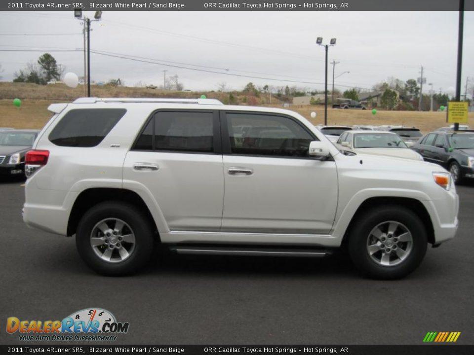 2011 Toyota 4runner Sr5 Blizzard White Pearl Sand Beige
