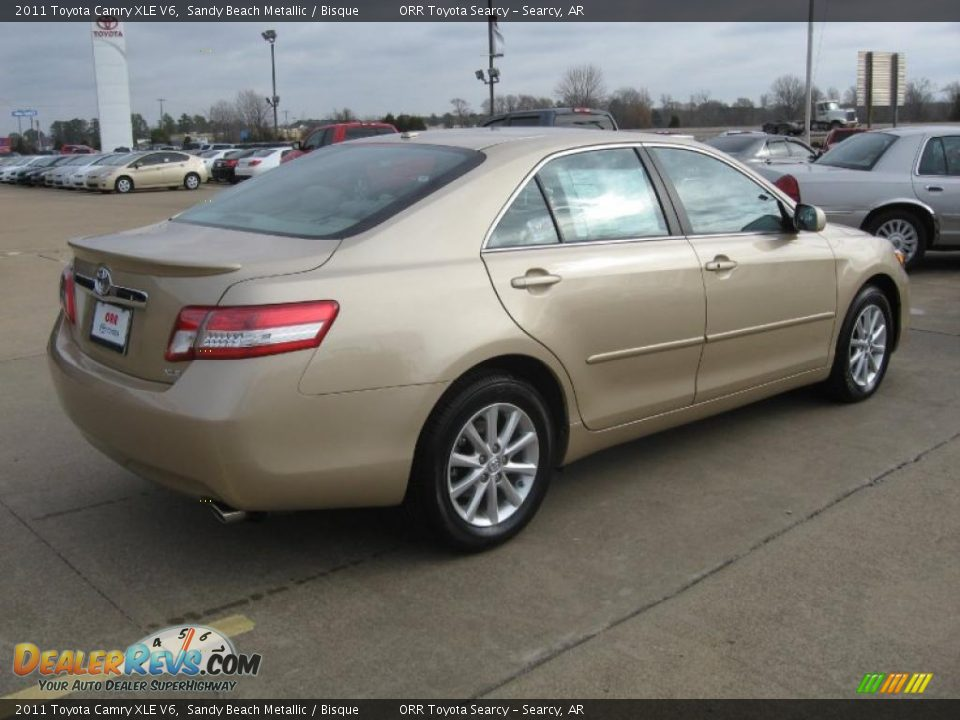 2011 toyota camry xle v6 sandy beach metallic bisque. Black Bedroom Furniture Sets. Home Design Ideas