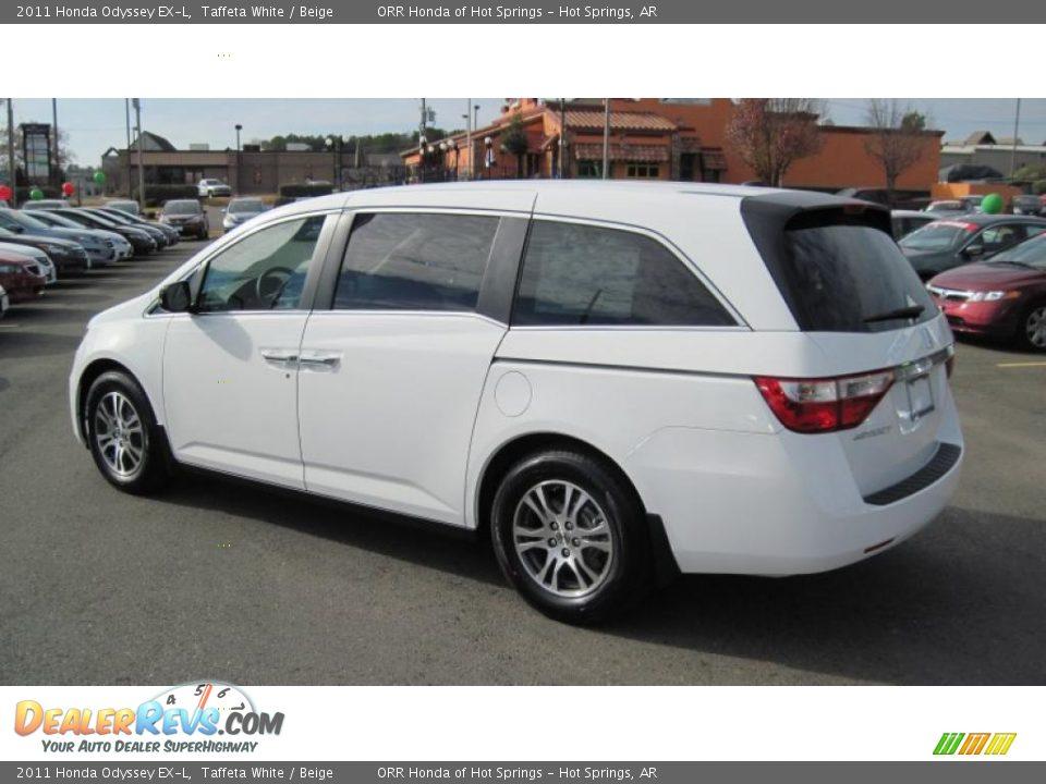 Taffeta White 2011 Honda Odyssey Ex L Photo 3 Dealerrevs Com