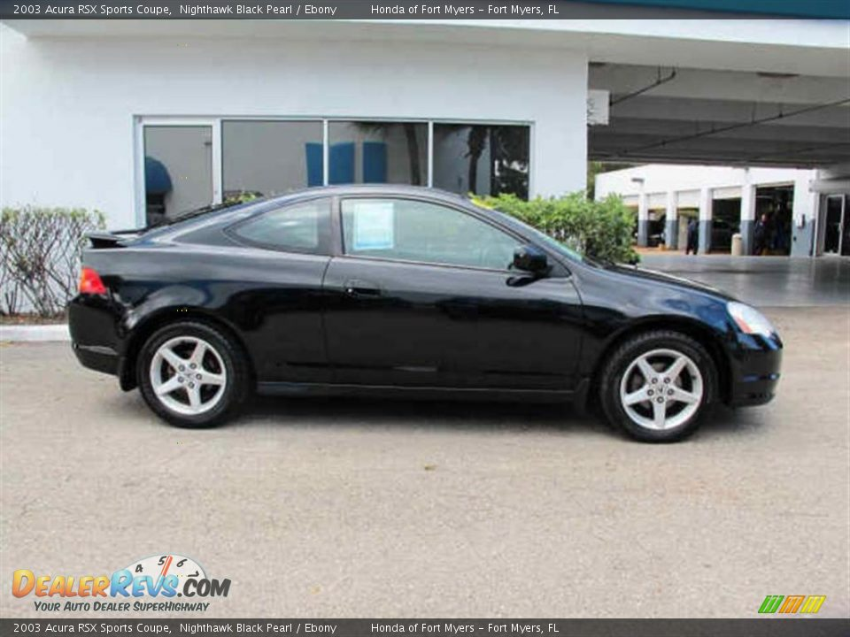 Nighthawk Black Pearl 2003 Acura Rsx Sports Coupe Photo 2