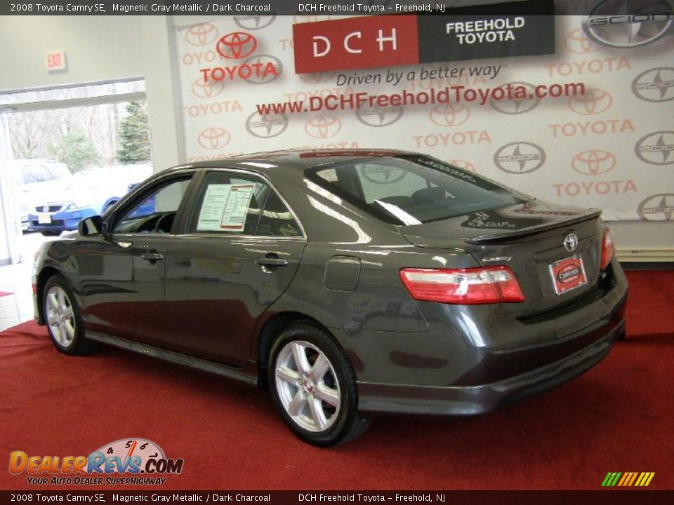 2008 toyota camry se magnetic gray metallic dark charcoal photo 6. Black Bedroom Furniture Sets. Home Design Ideas