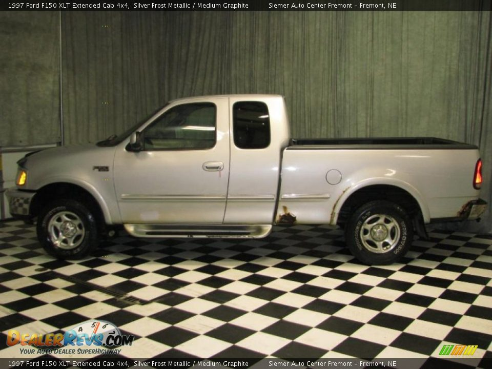 1997 ford f150 xlt extended cab 4x4 silver frost metallic. Black Bedroom Furniture Sets. Home Design Ideas