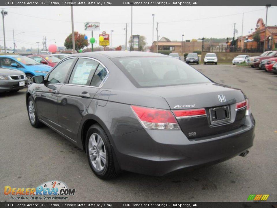 2011 Honda Accord Lx P Sedan Polished Metal Metallic Gray Photo 3 Dealerrevs Com