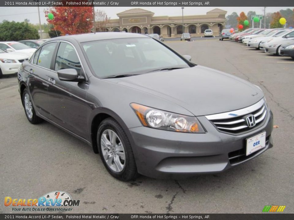 2011 Honda Accord Lx P Sedan Polished Metal Metallic
