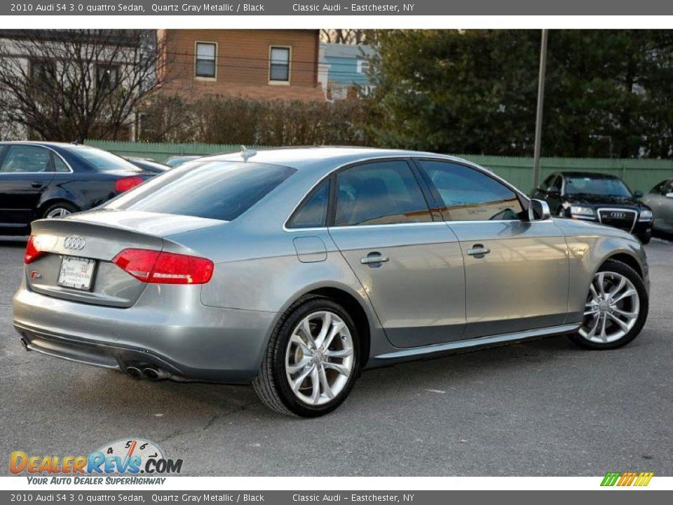 Quartz Gray Metallic 2010 Audi S4 3 0 Quattro Sedan Photo