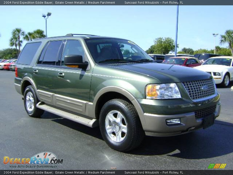 Ford Dealer Locator >> 2004 Ford Expedition Eddie Bauer Estate Green Metallic / Medium Parchment Photo #1 | DealerRevs.com