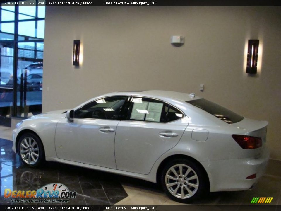 2007 lexus is 250 awd glacier frost mica black photo 3. Black Bedroom Furniture Sets. Home Design Ideas