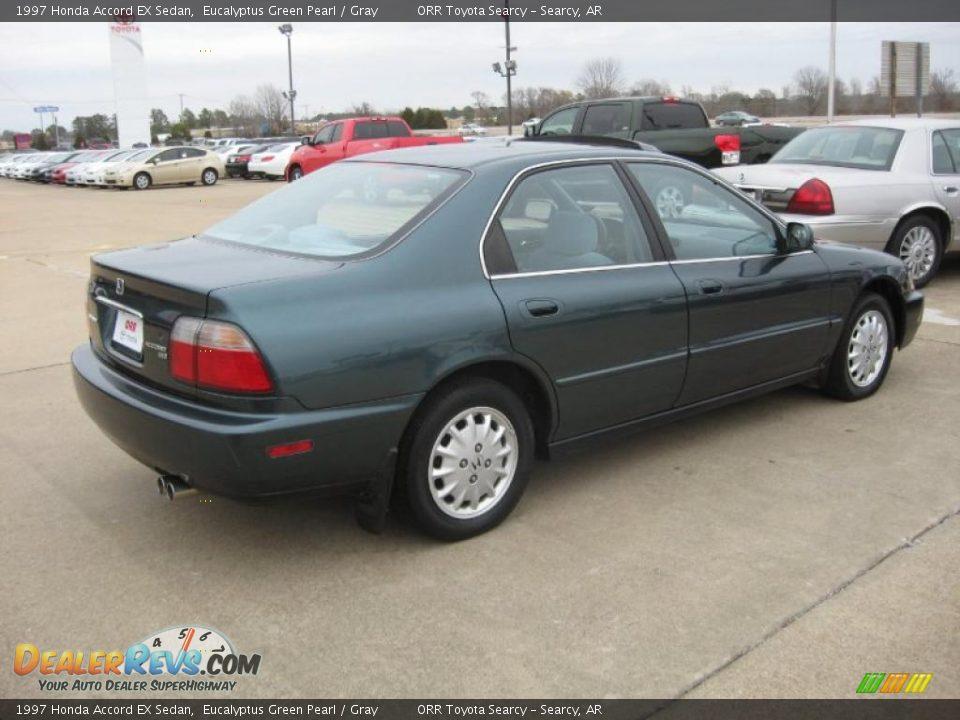 1997 Honda Accord Ex Sedan Eucalyptus Green Pearl Gray