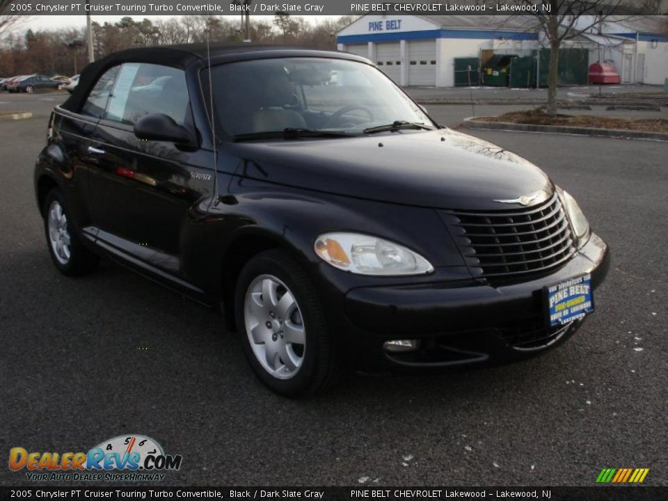 black 2005 chrysler pt cruiser touring turbo convertible photo 3. Black Bedroom Furniture Sets. Home Design Ideas
