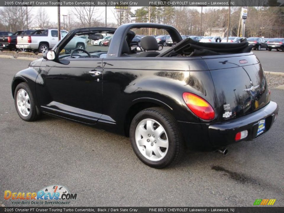 2005 chrysler pt cruiser touring turbo convertible black dark slate gray photo 12. Black Bedroom Furniture Sets. Home Design Ideas