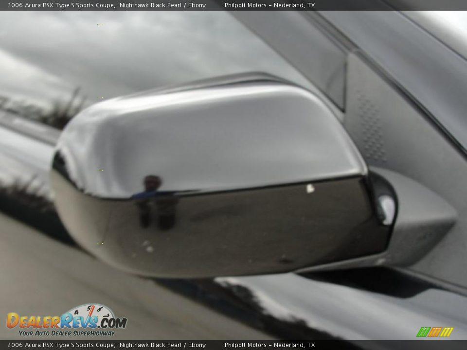 2006 Acura RSX Type S Sports Coupe Nighthawk Black Pearl / Ebony Photo #19