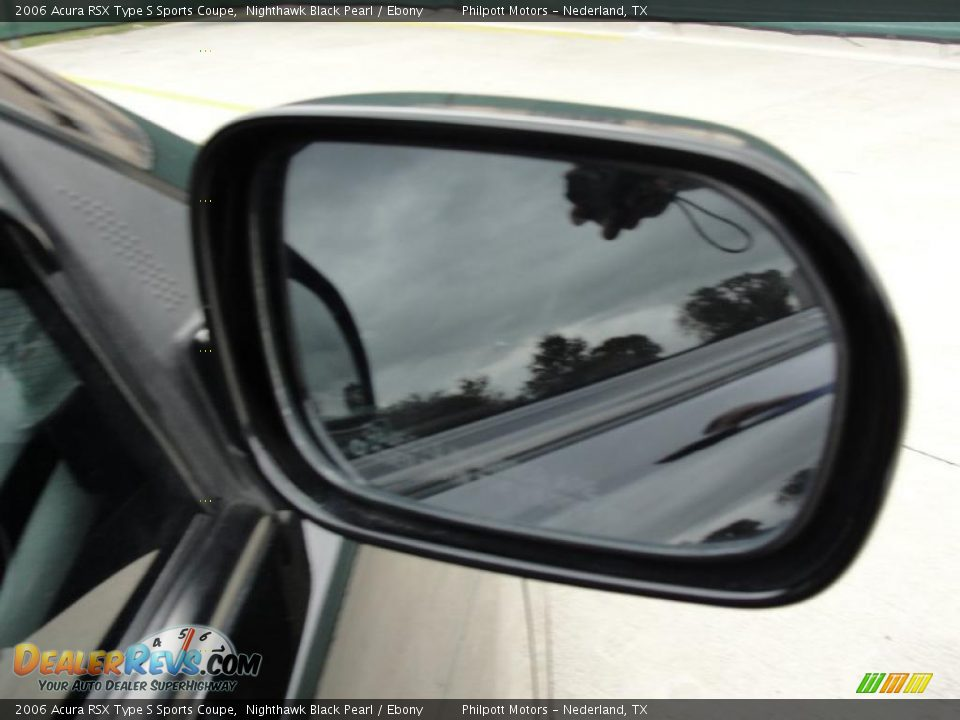 2006 Acura RSX Type S Sports Coupe Nighthawk Black Pearl / Ebony Photo #20