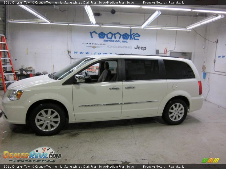 2011 chrysler town country touring l stone white for Stone s town country motors