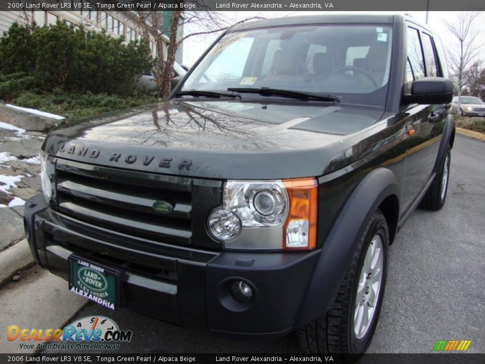 2006 land rover lr3 v8 se tonga green pearl alpaca beige photo 1. Black Bedroom Furniture Sets. Home Design Ideas