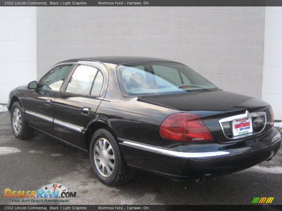 2002 Lincoln Continental Black Light Graphite Photo 5
