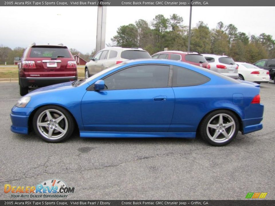 Vivid Blue Pearl 2005 Acura RSX Type S Sports Coupe Photo #4 ...