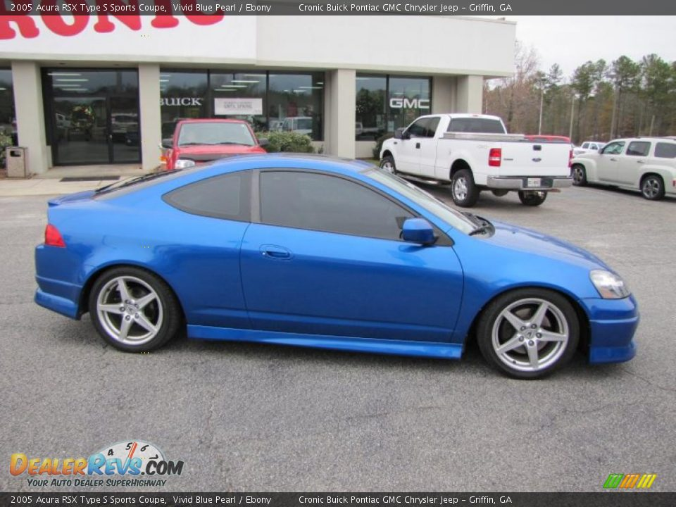 Vivid Blue Pearl 2005 Acura RSX Type S Sports Coupe Photo #8 ...