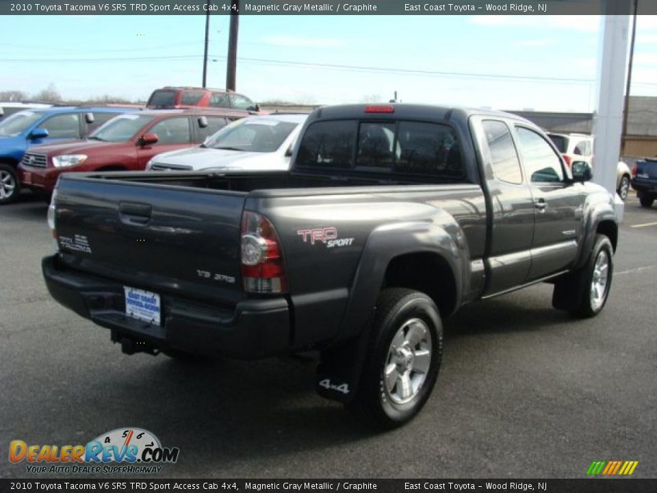 2010 toyota tacoma v6 sr5 trd sport access cab 4x4 magnetic gray metallic graphite photo 4. Black Bedroom Furniture Sets. Home Design Ideas