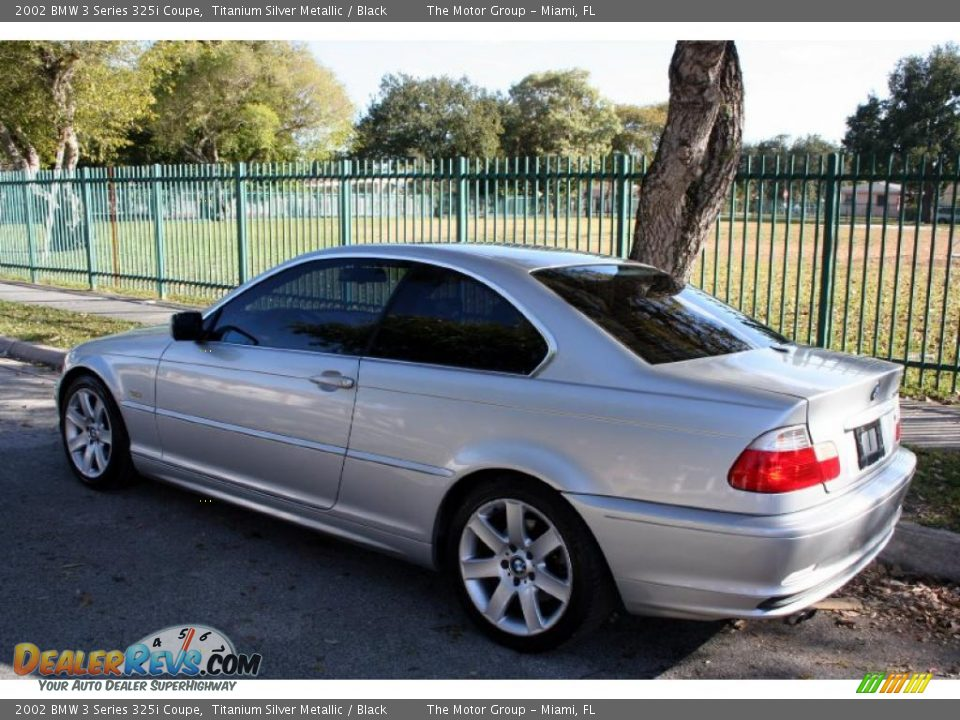 2002 bmw 3 series 325i coupe titanium silver metallic. Black Bedroom Furniture Sets. Home Design Ideas