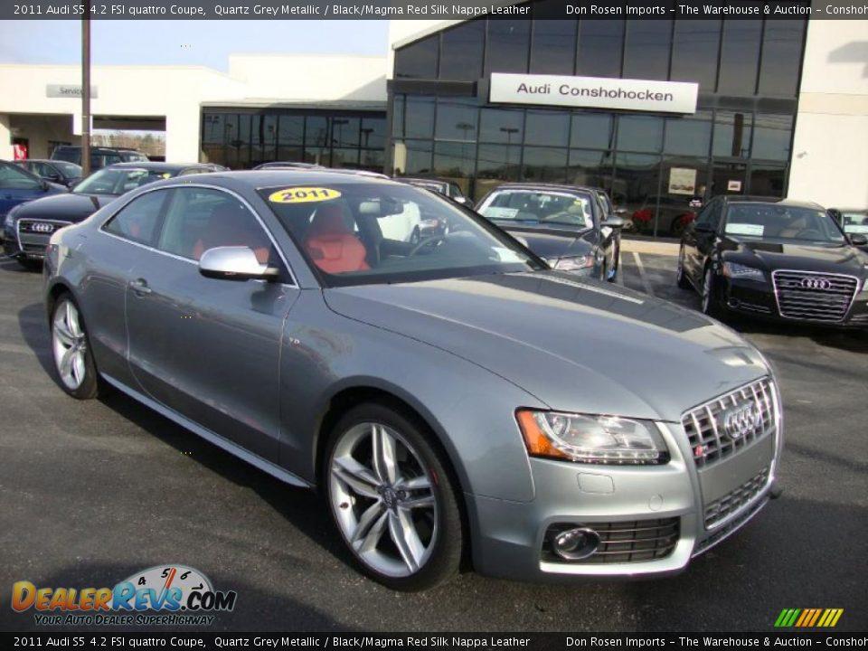 2011 Audi S5 4 2 Fsi Quattro Coupe Quartz Grey Metallic