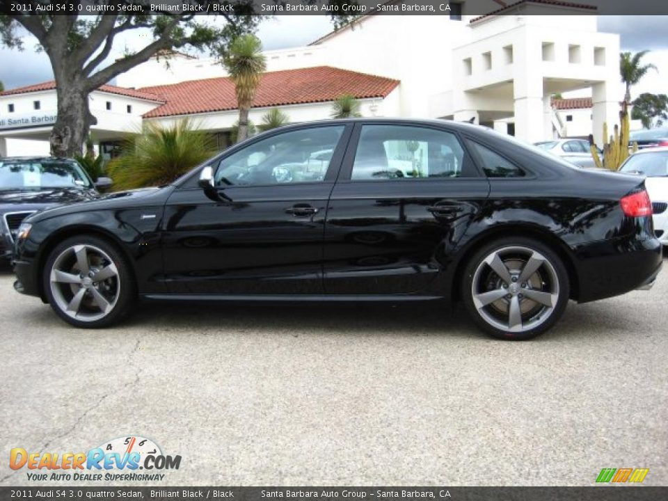 brilliant black 2011 audi s4 3 0 quattro sedan photo 2. Black Bedroom Furniture Sets. Home Design Ideas