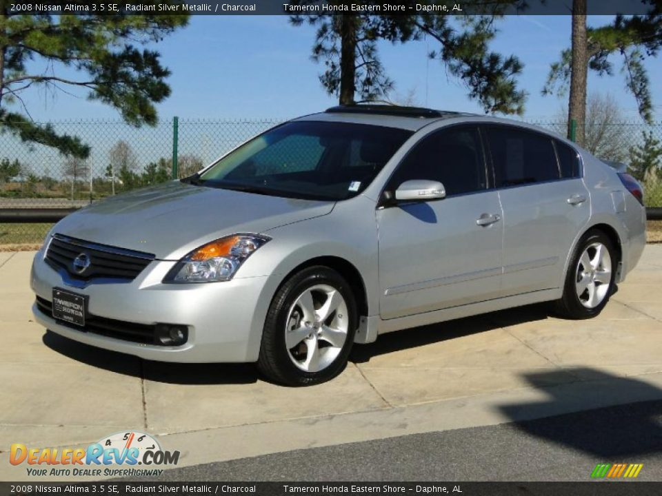 2008 nissan altima 3 5 se radiant silver metallic. Black Bedroom Furniture Sets. Home Design Ideas
