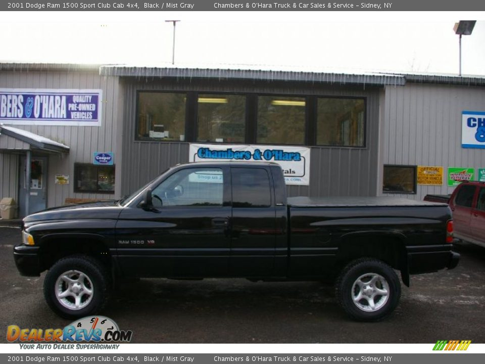 2001 dodge ram 1500 sport club cab 4x4 black mist gray photo 2 dealerrevs com 2001 dodge ram 1500 sport club cab 4x4 black mist gray photo 2 dealerrevs com