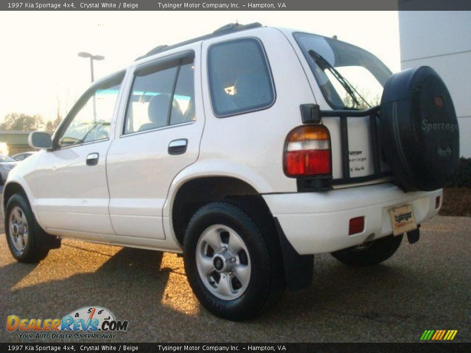 1997 kia sportage 4x4 crystal white beige photo 4. Black Bedroom Furniture Sets. Home Design Ideas